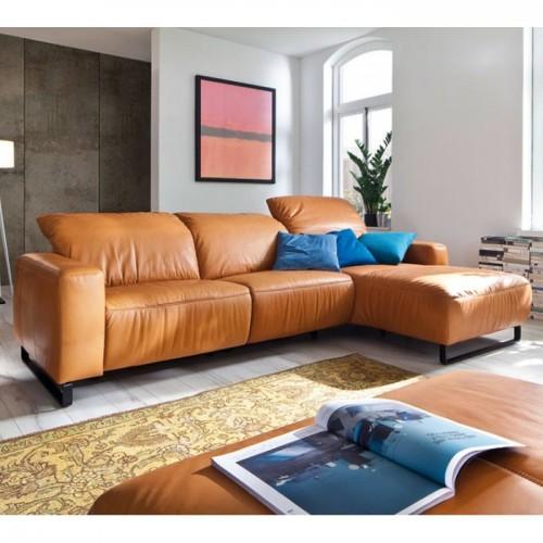 Stūra dīvāns ar regulējamiem galvas balstiem EMPIRE