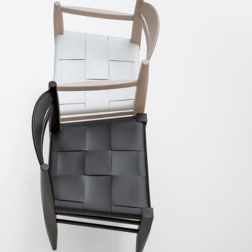 Krēsls ar ādas sēdvietu VINCENT V.G. 441