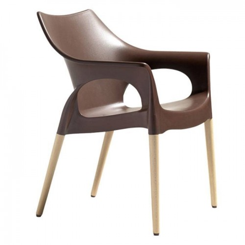 Krēsls ar roku balstiem NATURAL OLA