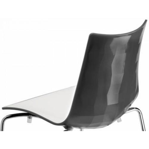 ZEBRA BICOLORE bāra krēsls