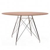 GLAMOUR W D90 apaļš galds