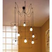Griestu lampa IDEA 8 (no ekspozīcijas)