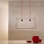 Griestu lampa IDEATELAIO twin 70/s2