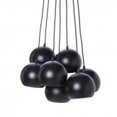 Griestu lampa BALL MULTI melns/balts