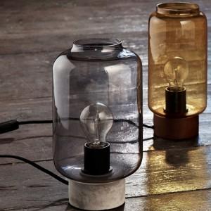 Galda lampa COLUMN (betona)