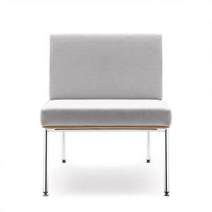 Atpūtas krēsls Fin / metāls-hroms