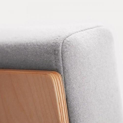 FIN atpūtas krēsls / metāls-hroms
