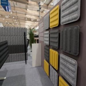 Akustiskais sienas panelis GROOVE (dažādi izmēri)