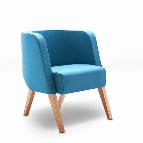NEON S / koks atpūtas krēsls