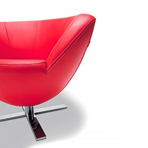 Atpūtas krēsls ONLY PLUS ar krusta pamatni