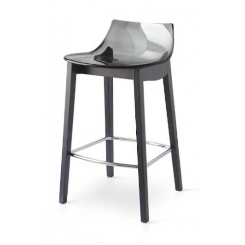Pusbāra krēsls LED WOOD h-65