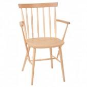 ANTILLA B-9850 koka krēsls ar roku balstiem