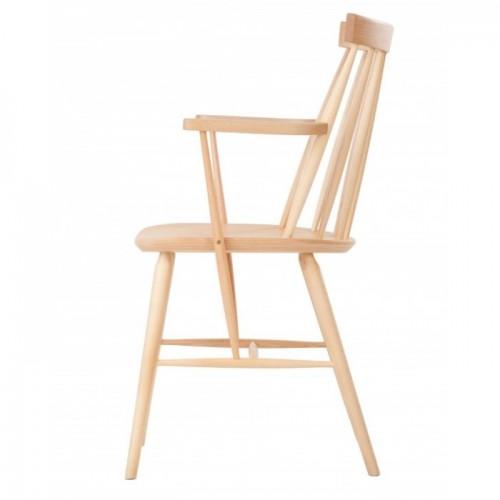 Koka krēsls ar roku balstiem ANTILLA B-9850
