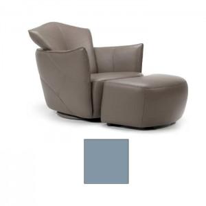 Atpūtas krēsls ar pufu PEPE