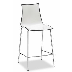Pusbāra krēsls ZEBRA BICOLORE