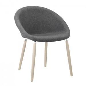 Krēsls ar roku balstiem NATURAL GIULIA POP