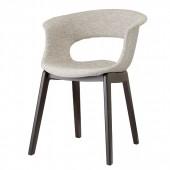 NATURAL MISS B POP krēsls ar roku balstiem