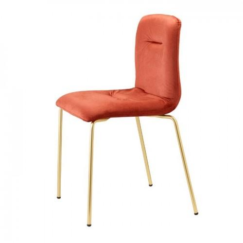 ALICE POP BRASS krēsls
