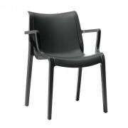 Plastmasas krēsls ar roku balstiem EXTRAORDINARIA