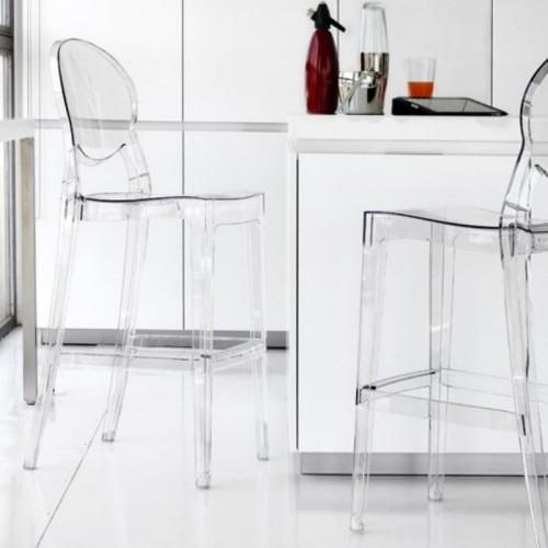 IGLOO plastmasas bāra krēsls