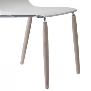 Krēsls ar koka kājām NATURAL ALICE