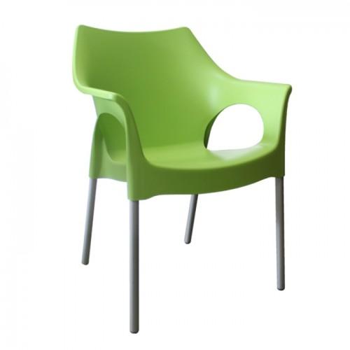 OLA krēsls ar roku balstiem