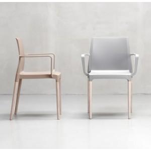 Krēsls ar roku balstiem NATURAL CHLOE'