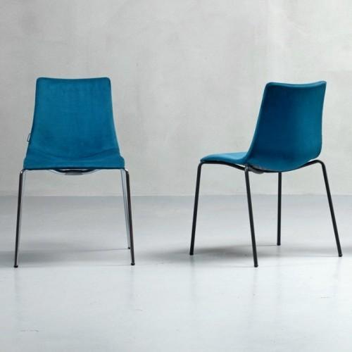 Krēsls ar mīkstu sēdvietu ZEBRA POP