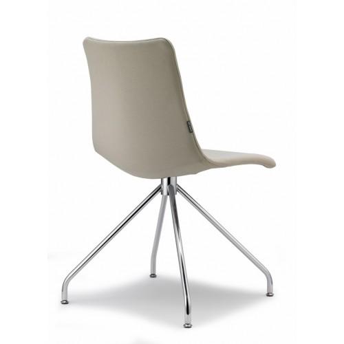 Krēsls ar mīkstu sēdvietu ZEBRA POP (grozāms)