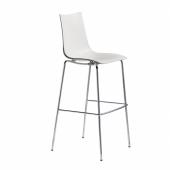 Pusbāra krēsls ZEBRA TECHNOPOLYMER