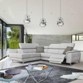 Stūra dīvāns FABIEN (ar relax funkciju)