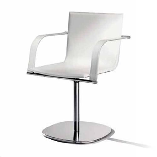 Ādas krēsls ar roku balstiem GALENA S