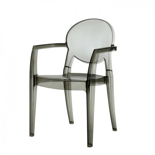 IGLOO plastmasas krēsls ar roku balstiem