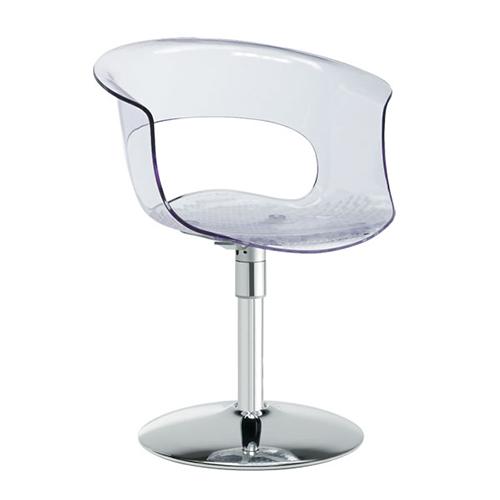 Krēsls ar roku balstiem MISS B TWIST (grozāms)