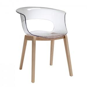 Krēsls ar roku balstiem NATURAL MISS B ANTISHOCK