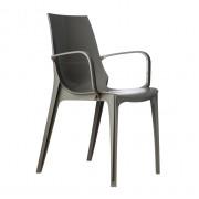 Plastmasas krēsls ar roku balstiem VANITY