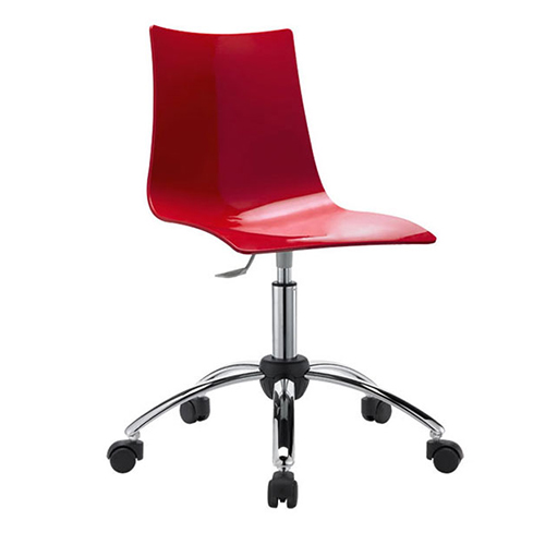 Krēsls uz ritentiņiem ZEBRA ANTISHOCK
